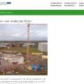Website Wageningen Campus over de bouw van het nieuwe onderwijsgebouw Orion (www.wageningenur.nl)