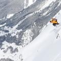 Freeriden bij Davos-Klosters, Zwitserland