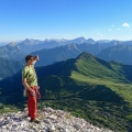 Monte Averau, een berg tussen de Passo di Giau en Passo di Falzarego in de Dolomieten