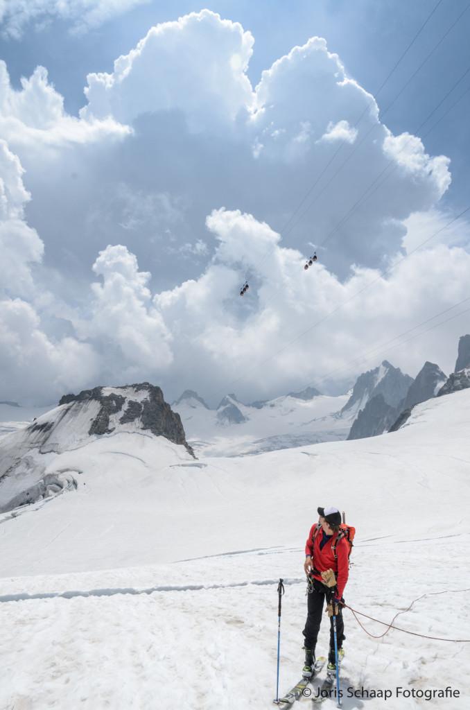 Opbouwende onweerswolken boven Italië: tijd om naar huis te gaan