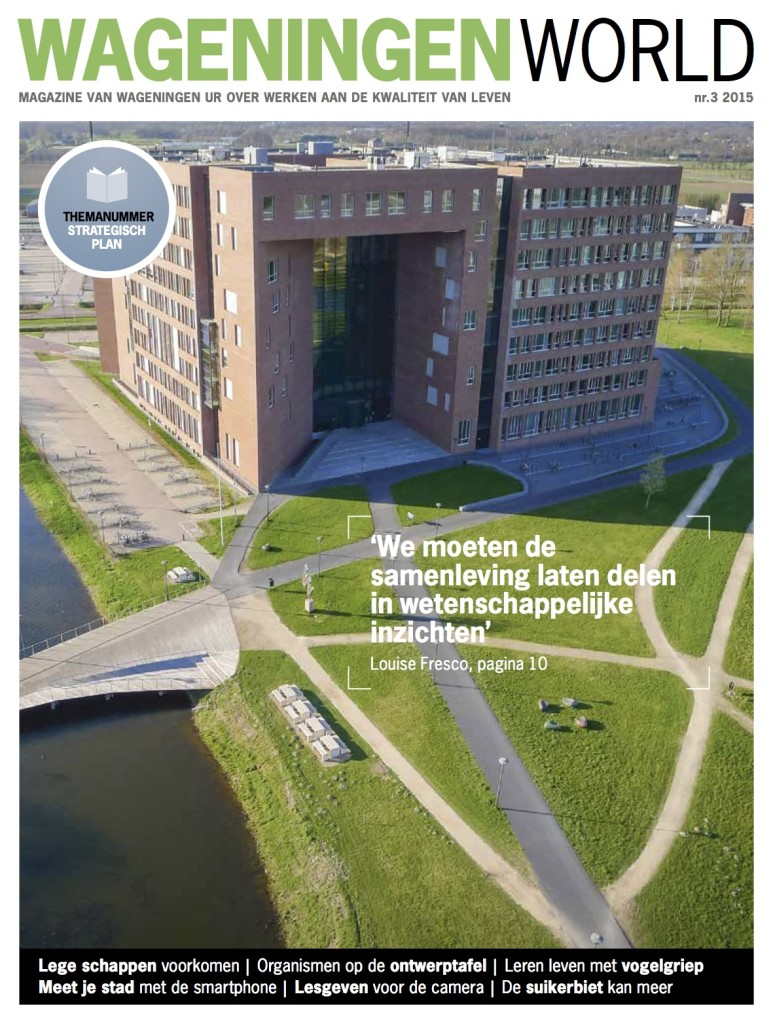 Magazine voor relaties en alumni van Wageningen University and Research centre (WUR)