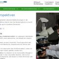 Duitse webversie van Wageningen Universität (www.wageningenuniversity.de)