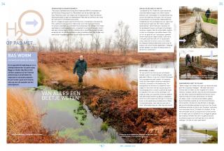 Op pad met Bas Worm, hydroloog bij waterschap Regge en Dinkel. H2O nummer 1-2013