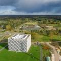 Wageningen Campus met de Veluwe op de achtergrond