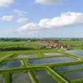 Volgelmeerpolder bij Broek in Waterland: een voormalige giftbelt, nu een recreatie- en natuurgebied