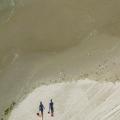 Badgasten op Vlieland