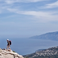 Klimmers in Gennargentu Nationaal Park, Sardinië, Italië«