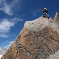 Beklimming van de Gross Furkahorn, Urner Alpen, Zwitserland