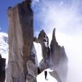 Cosmiques-graat, Mont Blanc-gebied, Frankrijk